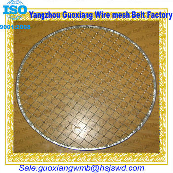 high quality round metal food trays