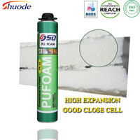 Alibaba top recommend expanding insulation liquid spray polyester fabric adhesive