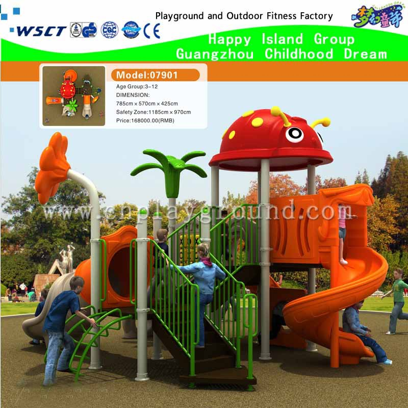 attractive outdoor playground equipment for children (M15-0050)