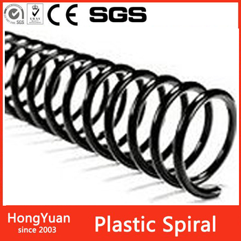 OEM eco-friendly plastic spiral rings binding wire