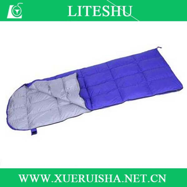 excellent down envelope lightweight sleeping bag waterproof cover