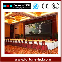 stage background led digital display screen die casting aluminum cabinet full color led display p7.62
