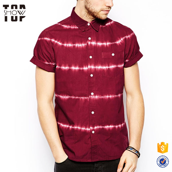 OEM fashion streetwear short sleeve new model shirts latest shirts for men pictures