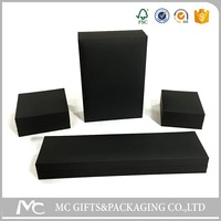 black touch paper jewelry box suit