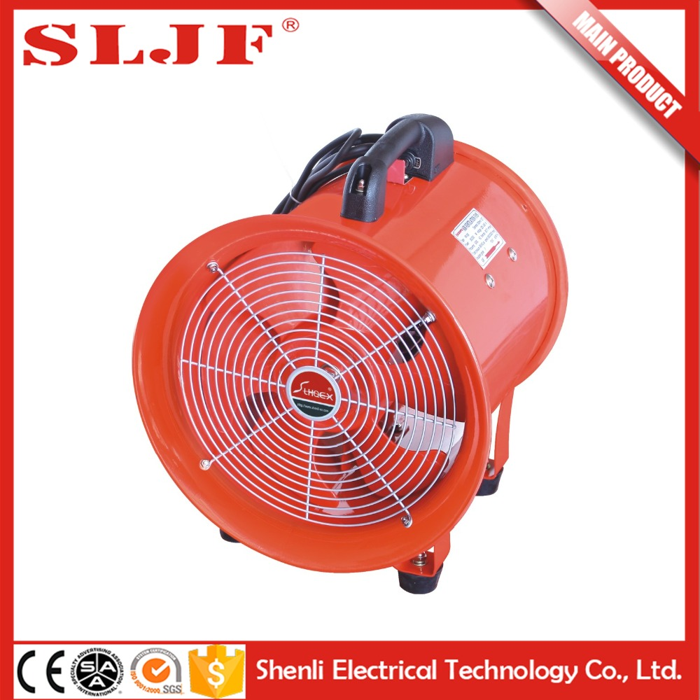 explosion proof portable air- ventilation roof fan system