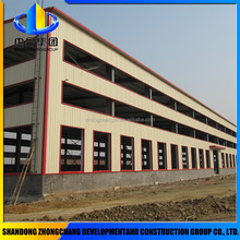 eco friendly factory prefabricated light steel frames structural