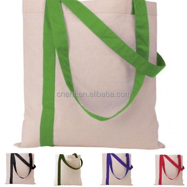 Promotional eco friendly natural small cotton bag