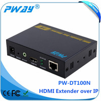 Transmits HDMI video and audio signals up to 150m HDMI Transmitter and Receiver IR hdmi extender