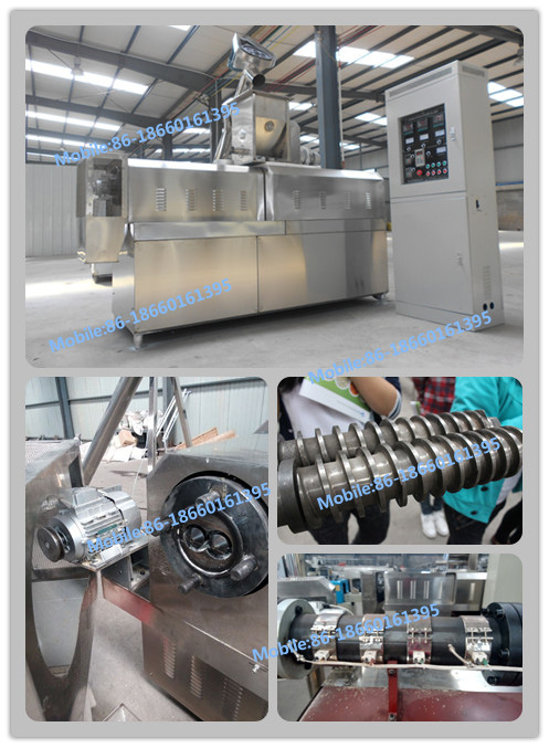 high quality pet food production line 100-1000kg/h