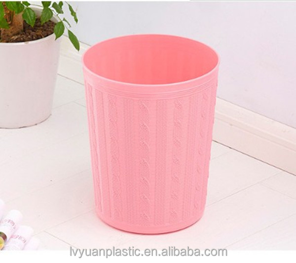 Hig quality Indoor Office Plastic Desk Mini Dustbin Trash Can Car Waste Container