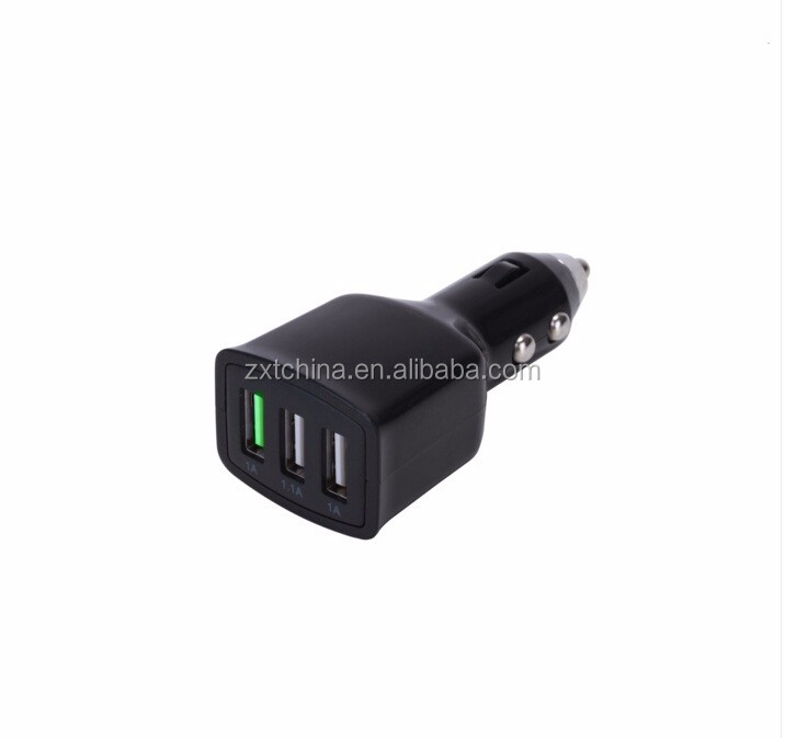3.1A 3-Ports Quick Charge 3.0 Car Charger