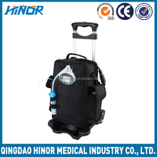 90% purity car use trolley electric battery operated mini oxygen concentrator
