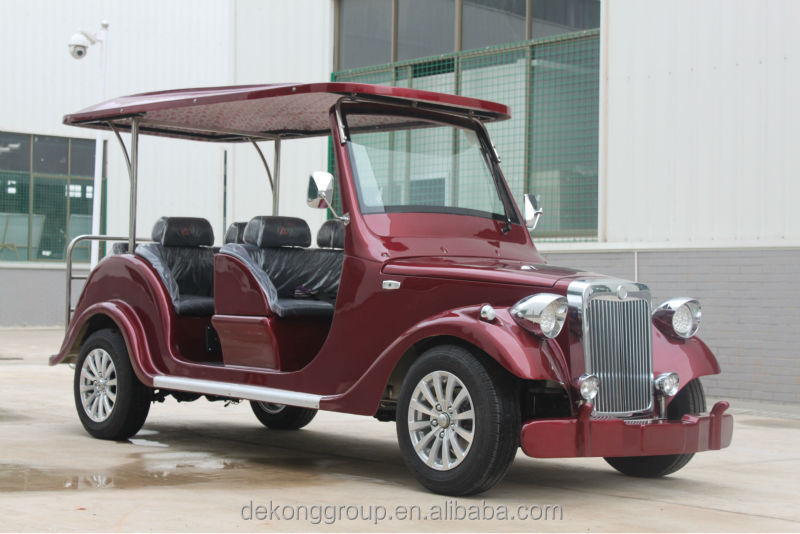 New wholesale road legal electric vehicles 6 seats electric classic tourist car