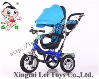 China 360 degree rotation seat children tricycle 3 wheel baby tricycle /kid tricycle