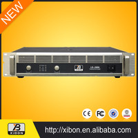 Multifunctional 6 channel power amplifier