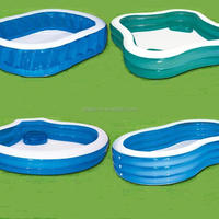Pvc Square Pools Inflatable Large Swimming