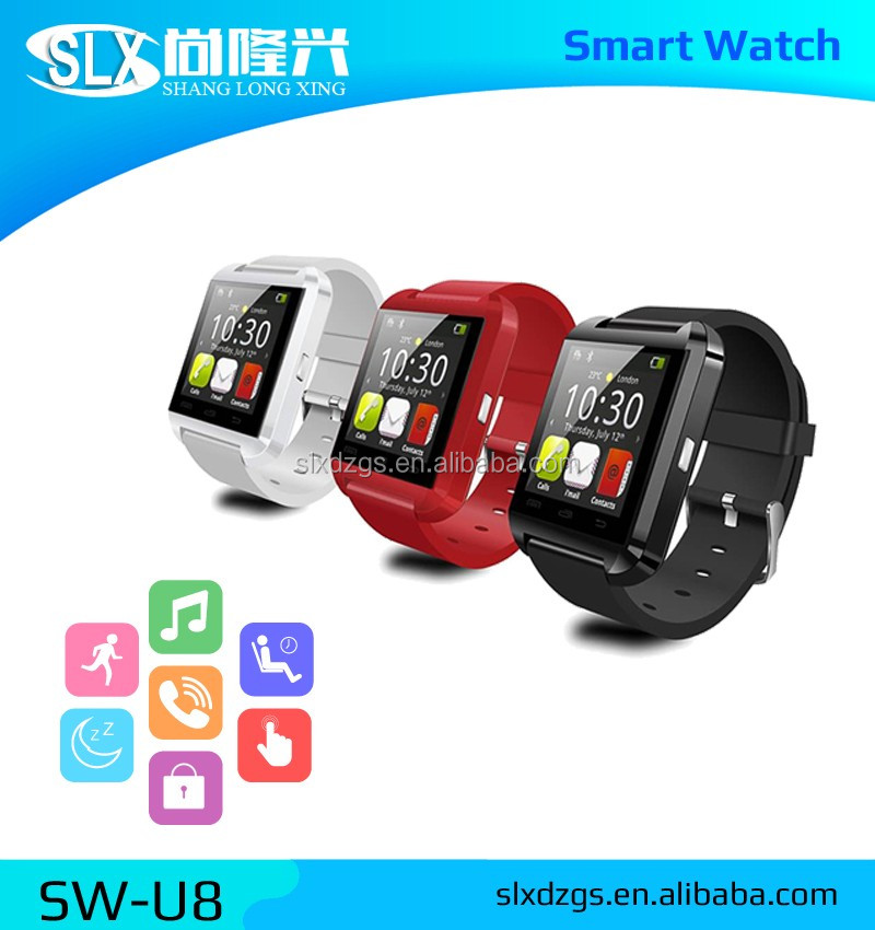 Cheap Wrist Watch Mobile Phone Bluetooth Android U8 Smart Watch