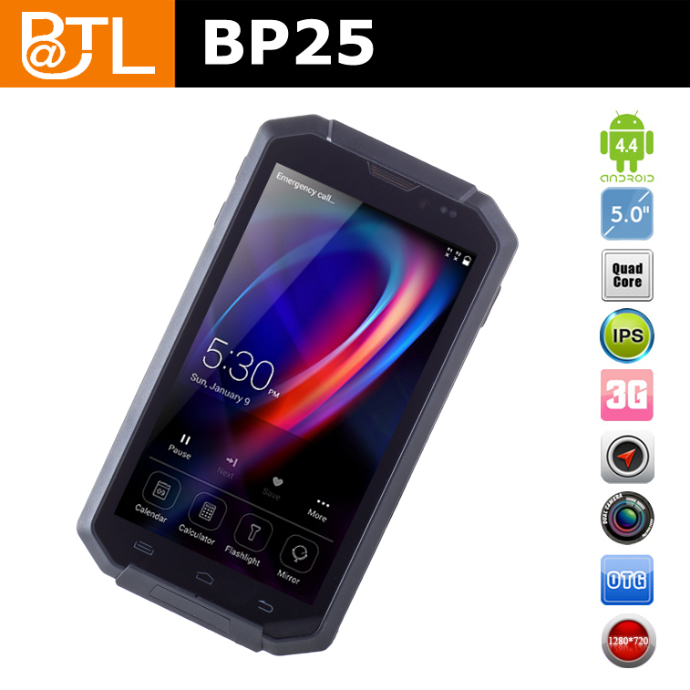 BATL BP25 3G Military Grade Cell Phone outdoor with 2.0+8.0mp camera 1280*720 dropproof