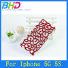 Hollow palace flower pattern back case for iphone 5
