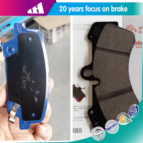 Performance comfortable non-asbestos disc brake pad