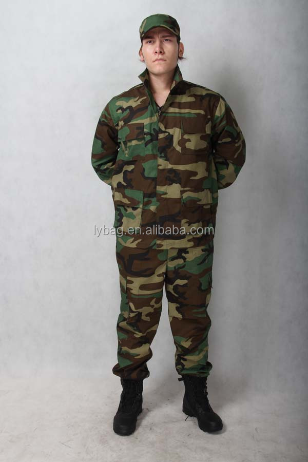 BDU Camouflage Military Uniform