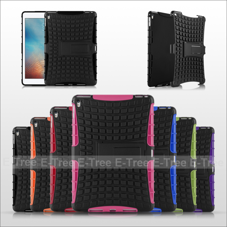Shock Proof Case Cover For Apple <strong>iPad</strong> Pro 9.7 inch with Stand function