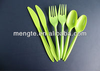 medium weight biodegradable disposable plastic PP tableware for knife fork spoon