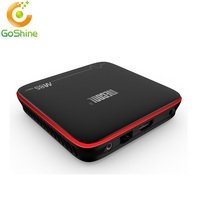 Goshine 2017 brand New design Android 7.1 Tv Box M8s Pro W With KODI 17.3 dual band wifi 2gb RAM 16gb Rom Amlogic S905w OTT TV