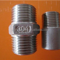 Chinese Factory Precision Casting Hex Nipple
