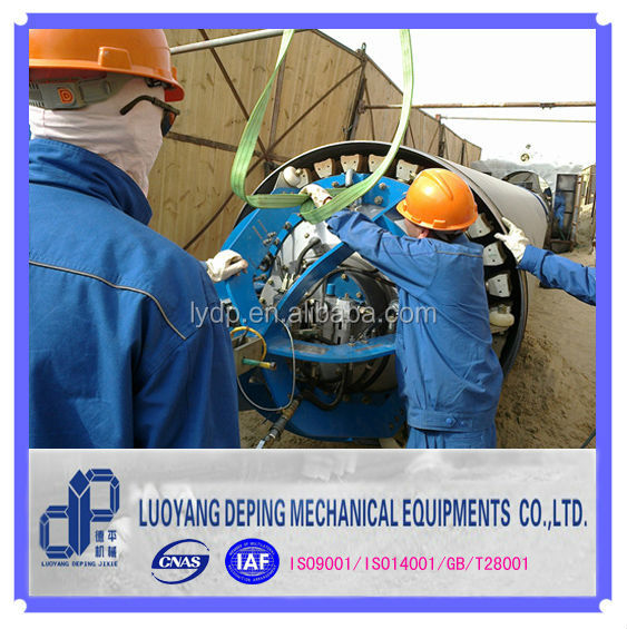 Centric Clamp For Internal Pipe Ling-Up Welding In Pipeline Construction