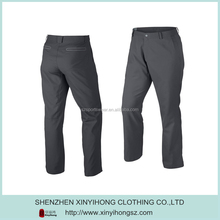 Wholesales Gray Color Dry Fit Plus 4 Golf Trousers For Men