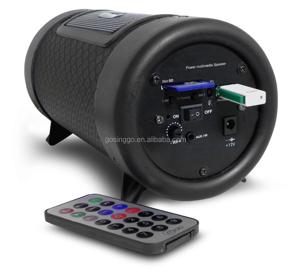 High Quality 4 Inch Bluetooth Car Subwoofer Amplifer Made