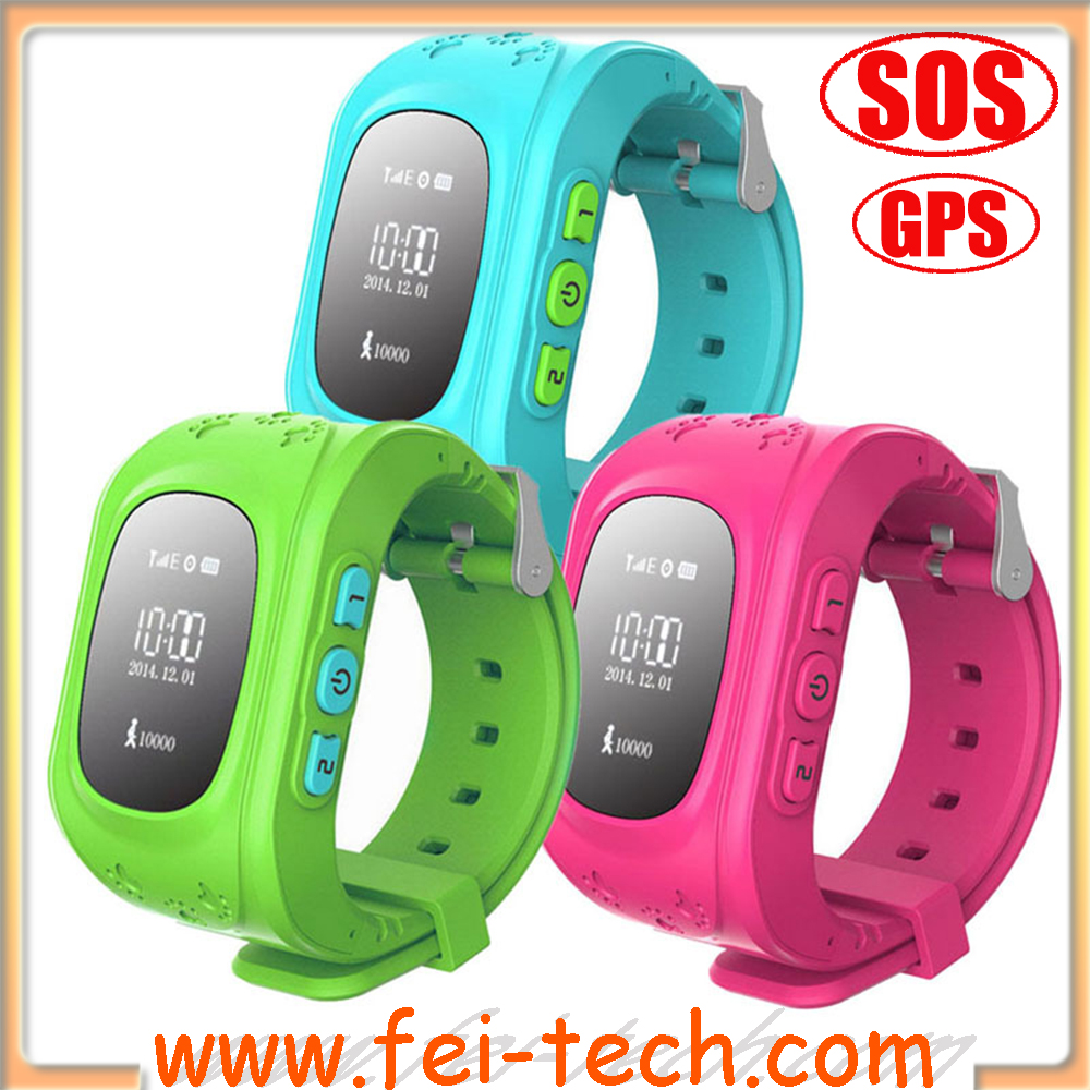 Tracker trace kids GPS watch for child safe