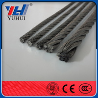 Galvanized 7x7 Steel WireRope ,Steel Wire rope price ,standard steel cable