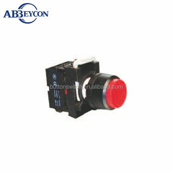 BB103 CE ROHS Latching switch high round / momentary push button