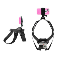 Go pro Fetch Go pro dog chest harness mount for Iphone, Samsuang , Gopros, xiaomi yi camera, Gopros dog chesty GP203