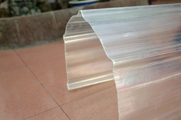 XINHAI The light transmission reaches12%-82% polycarbonate corrugated plastic