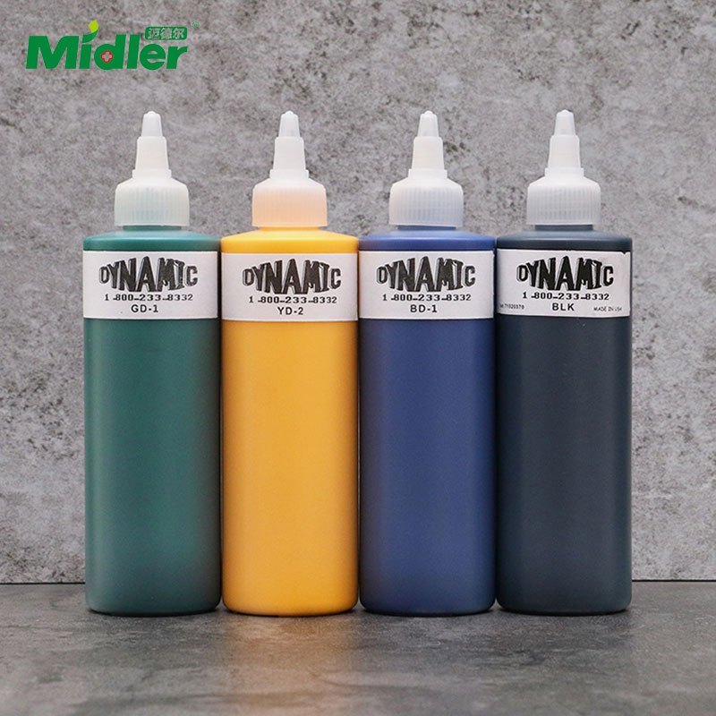 Midler Professional Tattoo Makeup Best Shader Black Tattoo Ink