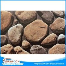 High quality thickness 30mm garden pebble stone decorative