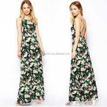 Long flirty summer dresses