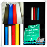PVC high intensity reflective micro prism reflective material