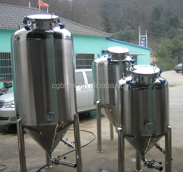 100l of mini beer brewing equipment craft beer production for Craft kettle brewing equipment