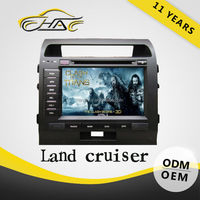 Speical price GPS Toyota Landcruiser Car DVD player with GPS radio FM AM and 4 GB SD card