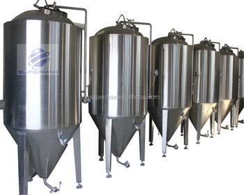 Temperature controlled cylindro conical commercial fermenter,commercial microbrewery equipment