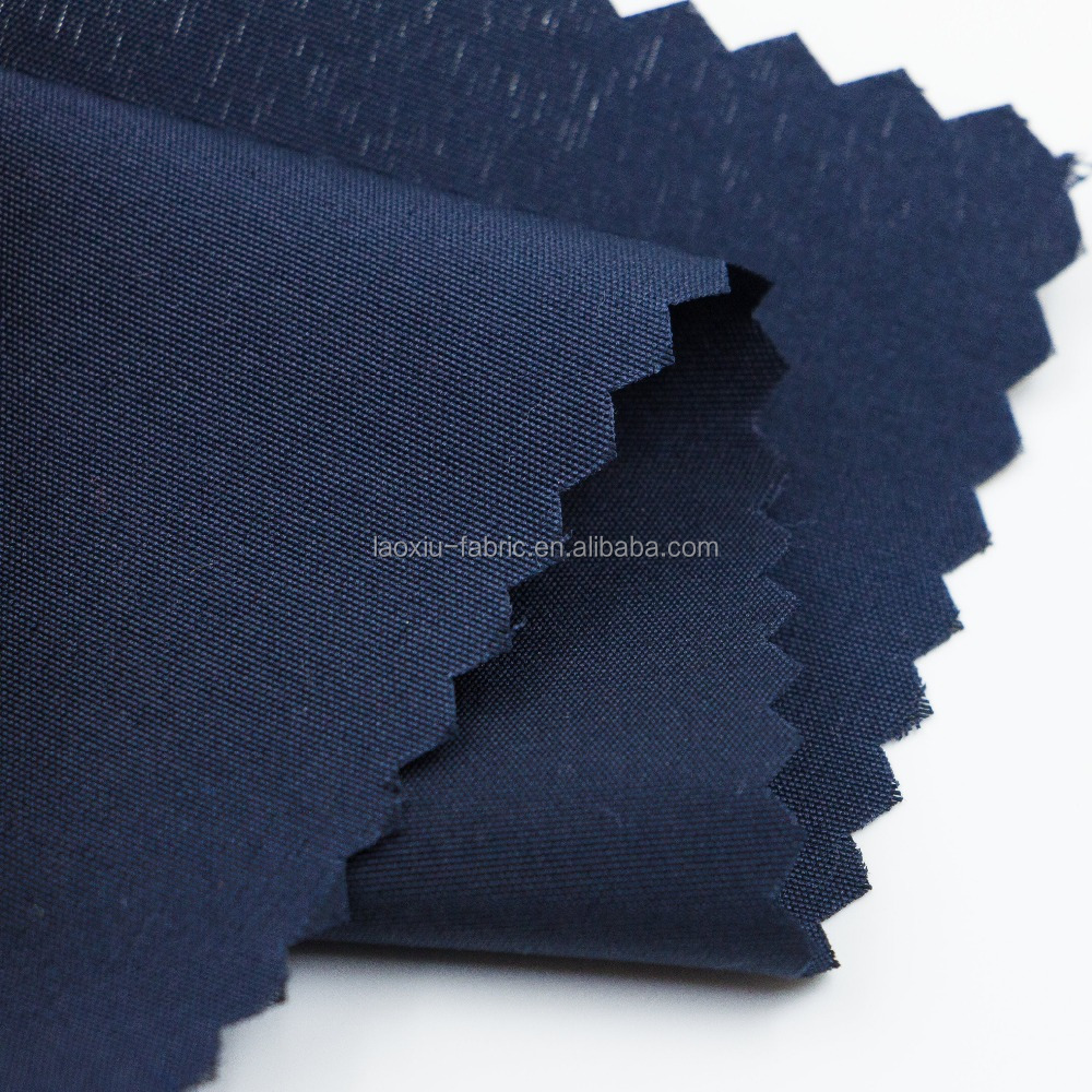 plain dyed polyester pong 100 poly embossed pongee lining fabric for handbag fabric