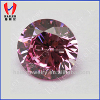 Hot Sale Synthetic Pink Diamond Pink CZ Gems