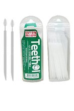 DISPOSABLE INTERDENTAL BRUSH AND TOOTHPICK