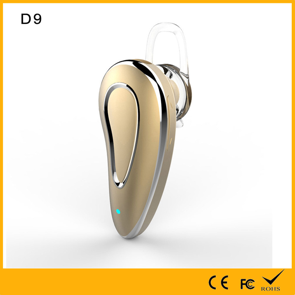 Best price Wireless Bluetooth D9 Headset Stereo Headphone Mini Earphone for Smart Phone (Black)
