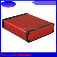 hard anodized aluminum computer boxes cnc machining custom service