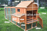 Extra Large Run 3.65M Wooden Chicken Coop